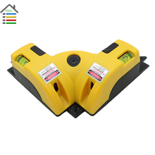 High Quality Right Angle 90 Degree Square Laser Level Measure Scale Infrared Foot Level Wall Frames Easily lay Out Right Angles