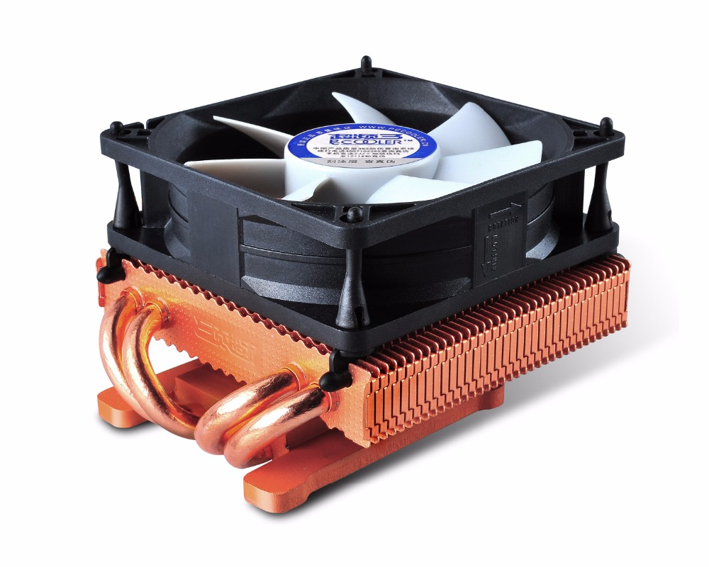 PcCooler K80D 80mm 8cm fan 4 heatpipe, NVIDIA /ATI Graphics Cooler, GPU Graphics Fan, GPU Radiator 100mm fan 2 heatpipe graphics cooler for nvidia ati graphics card cooler cooling vga fan vga radiator pccooler k101d