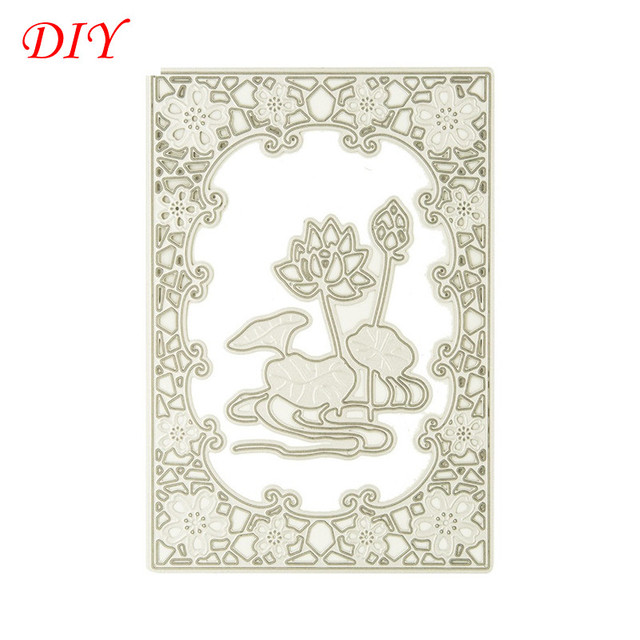 About Water Lily Metal Cutting Dies Stencils For Scrapbooks Photo
