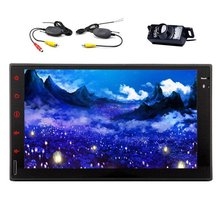 In-Dash Navigation Car Stereo Radio NONE-DVD Player with 7″ Capactive Touchscreen Display GPS Bluetooth Headunit 2din car radio