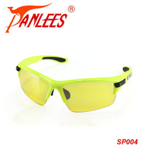 PANLEES out do game Glasses polarized UV eye wear Sunglasses Men racing interchangeable 5 lens blue yellow lens night vision