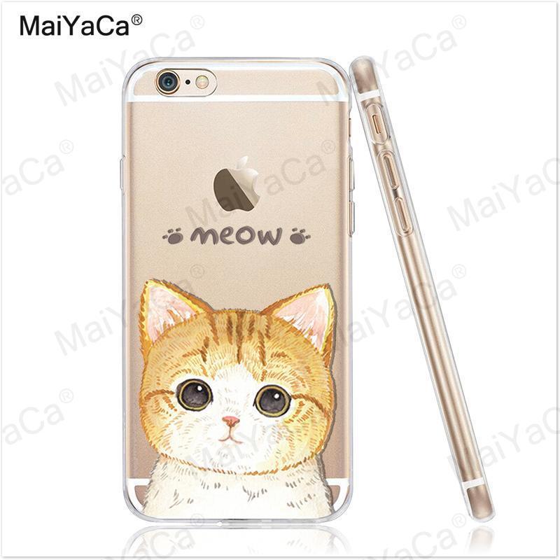 MaiYaCa telefonfodral för iPhone 4s 5s 6s 7 plus mjukt genomskinligt - Reservdelar och tillbehör för mobiltelefoner - Foto 5