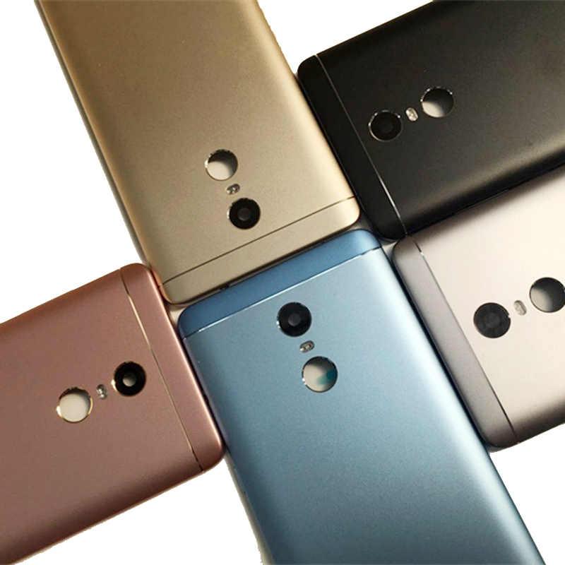 Xiao Mi Merah Mi Note 4 4X Penutup Baterai Pintu Belakang Back Housing Case Pengganti Snapdragon Xiao Mi Merah Mi note 4 4X Penutup Baterai