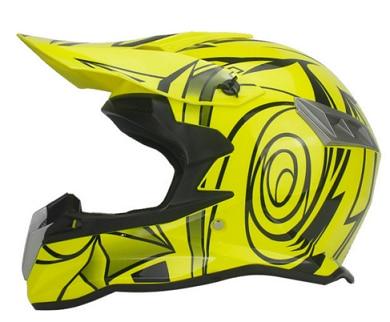 Super Light Helmet Cartoon Print Motorcycle Racing Bicycle Helmet For Children