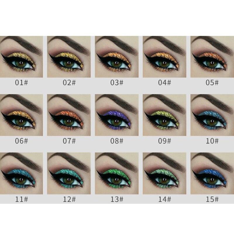 Aigomc Metallic Eyeshadow Cream Waterproof Long Lasting Gold Blue White Shimmer Eyeshadow Highlighter Smoky Eyeshadow Hf086 Beauty & Health Beauty Essentials
