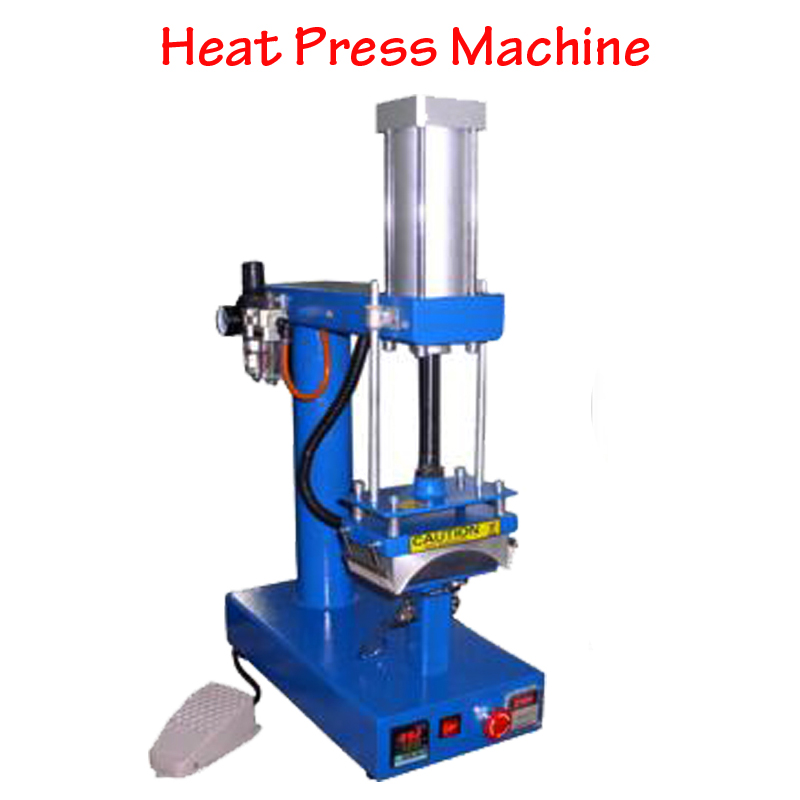 Pneumatic Cap/Tshirt Sublimation Heat Press Machine Heat Printing Machine with English Manual CP815 цена