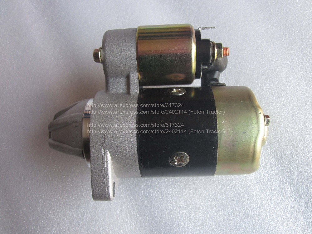 170F 178F 186F 188F 192F engine parts, the starter motor, please check rotation of the starter