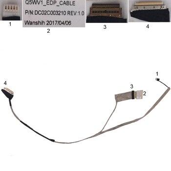 NEW Laptop Cable For Acer Aspire V3 V3-551 V3-551G NV52L Q5WV1 PN:DC02C003210 Notebook LCD LVDS CABLE new laptop cable for acer aspire v3 v3 571 v3 571g for fhd ultra thin screen version 2 pn dc02c004600