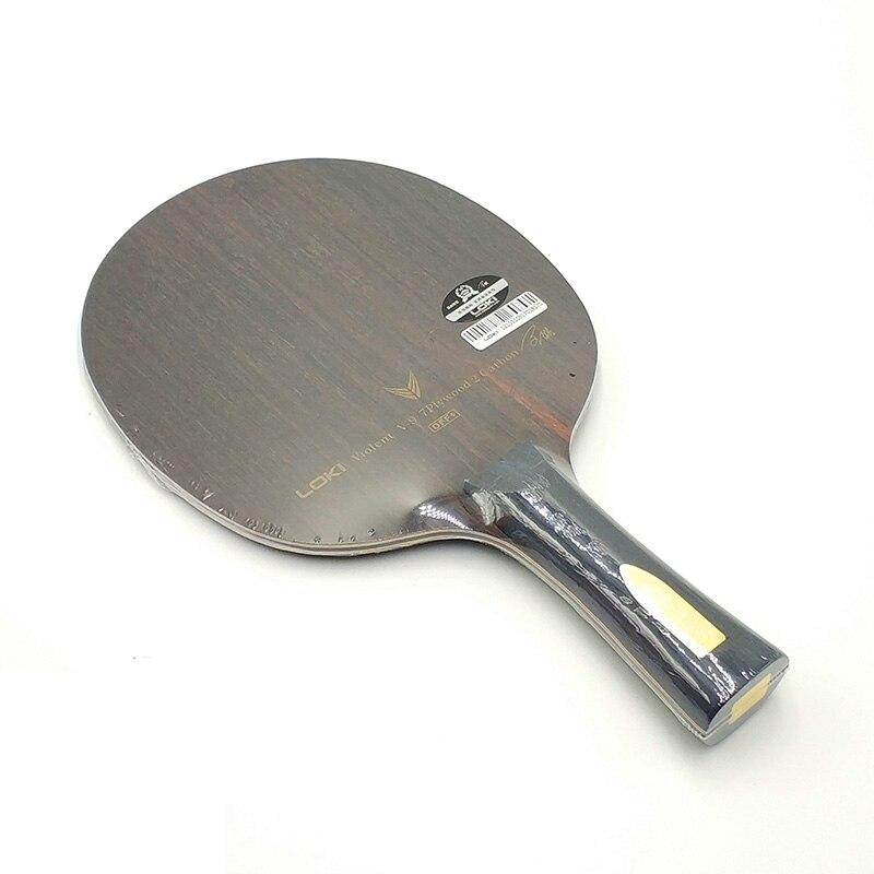Image 2 - LOKI V9 Ebony Carbon Table Tennis Blade Professional Table Tennis Racket Offensive Arc Ping Pong Blade-in Table Tennis Rackets from Sports & Entertainment