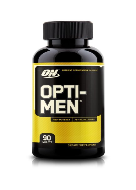 ФОТО Optimum Nutrition Opti-Men Supplement, 90 Count