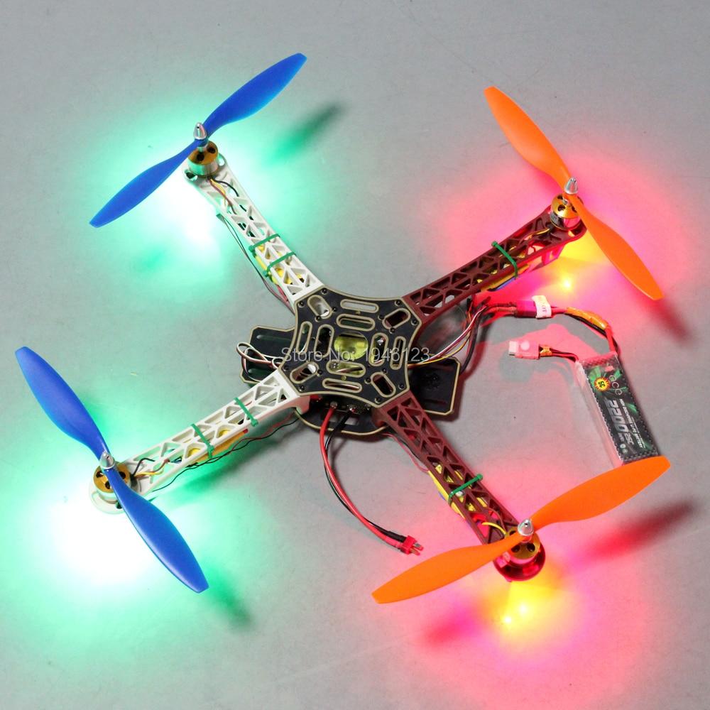 5 V LED Super Helle Bunte Nacht Navigation Lichter High Power Licht Unterstützung FPV Quadcopter F450 F330 F550 S500 S550 rahmen