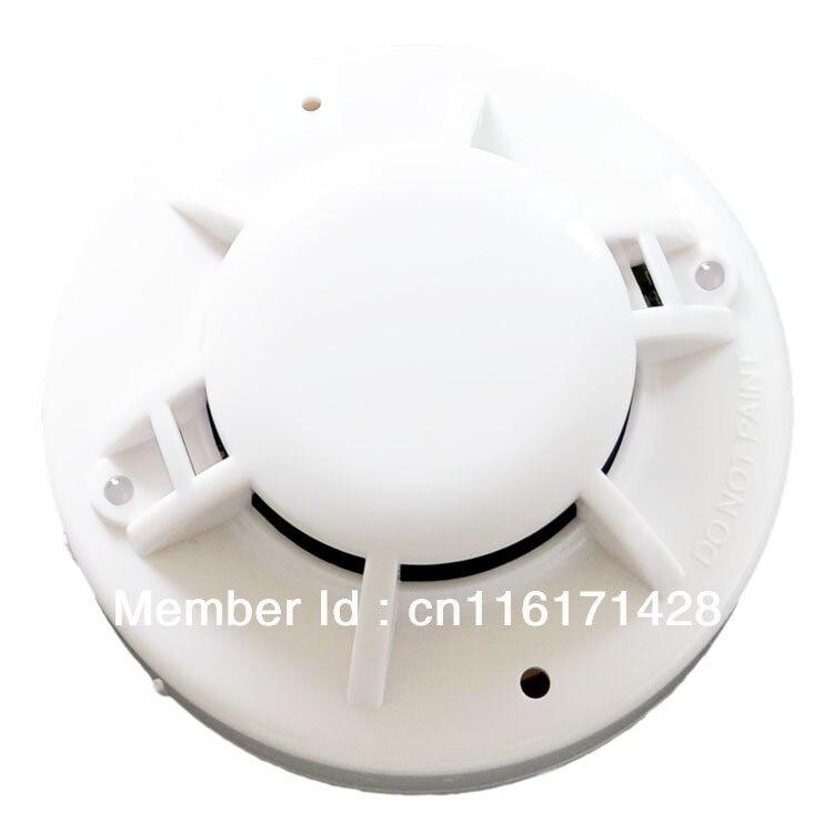 Conventional Smoke and Heat Detector milti sensor smoke detector heat font b alarm b font 2wire