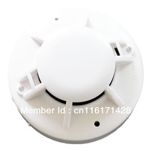 Fire alarm smoke and heat detector conventional multi sensor 2 wired combined detector