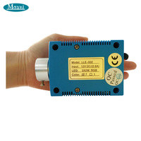 Maykit Multi Color Fiber optics Light Emitter With 18mm RF 6W RGB Red Blue Orange Yellow Green Fiber optics Lighting