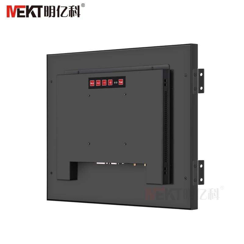 MEKT19/17/12/10. 4/15 дюймов промышленный встроенный сенсорный экран монитор 1024*768/hdmi VGA DVI/DC 12V настраиваемый широкий напряжение - 5