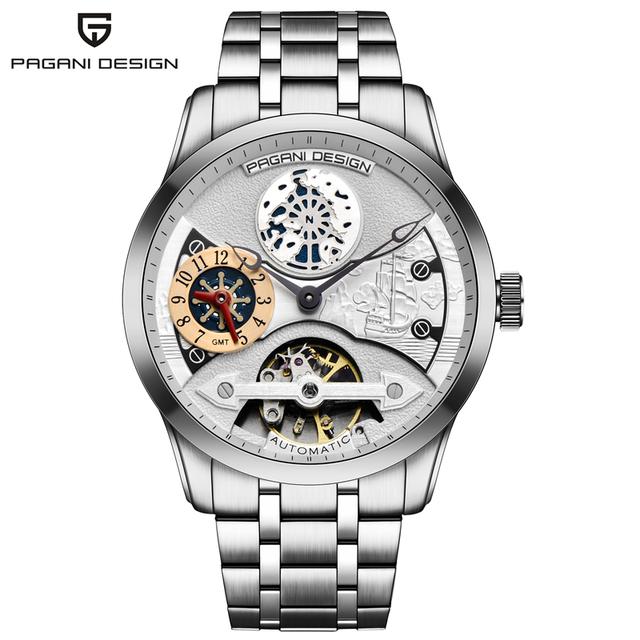 PAGANI DESIGN Watch Mens Luxury Brand Waterproof Military Army Mechanical Watch Automatic Clock Men Saat 2018 Relogio Masculino