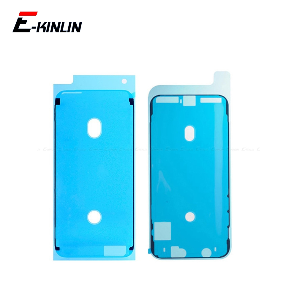 For iPhone 6S 7 8 Plus X XR XS Max LCD Touch Screen Display Frame Waterproof Pre-Cut Adhesive Glue Tape Sticker(China)