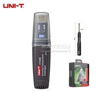 UNI T USB Data Logger 60K Datalogger Recording Humidity Temperature Thermometer UT330A UT330B UT330C Mini PC Connection Meter