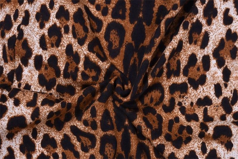 Hugcitar high waist leopard print flare leggings 2020 autumn winter women fashion sexy bodycon trousers club pants