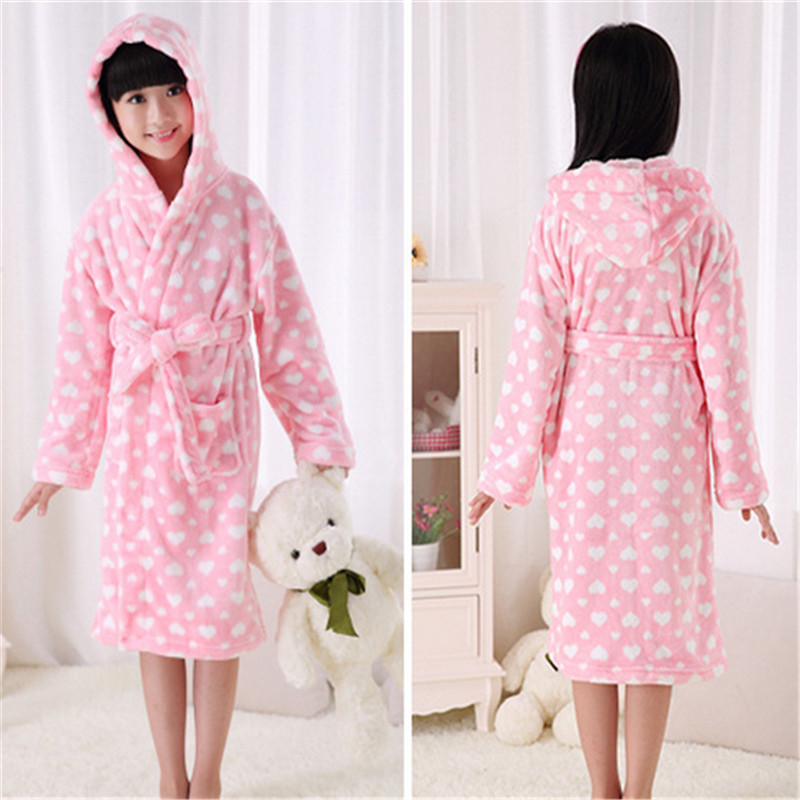 Aliexpress.com : Buy Girls Robes Children Bathrobes Warm