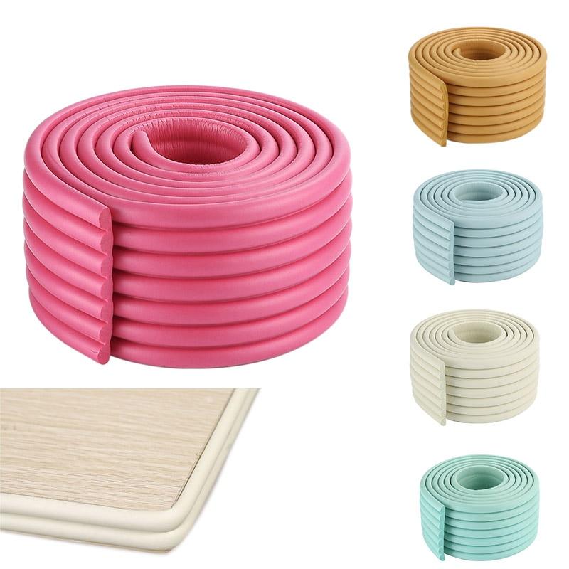 2m Baby Safety Bumper Strip Children Table Corner Protector Guard Desk Edge Cushion Strips M09
