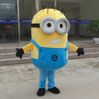 On Sale Free Shipping 8 Styles Despicable Me Minion Mascot Costume For Adults Despicable Me Mascot
