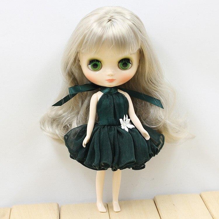 Middie Blythe Doll Colorful Elegant Dresses 1