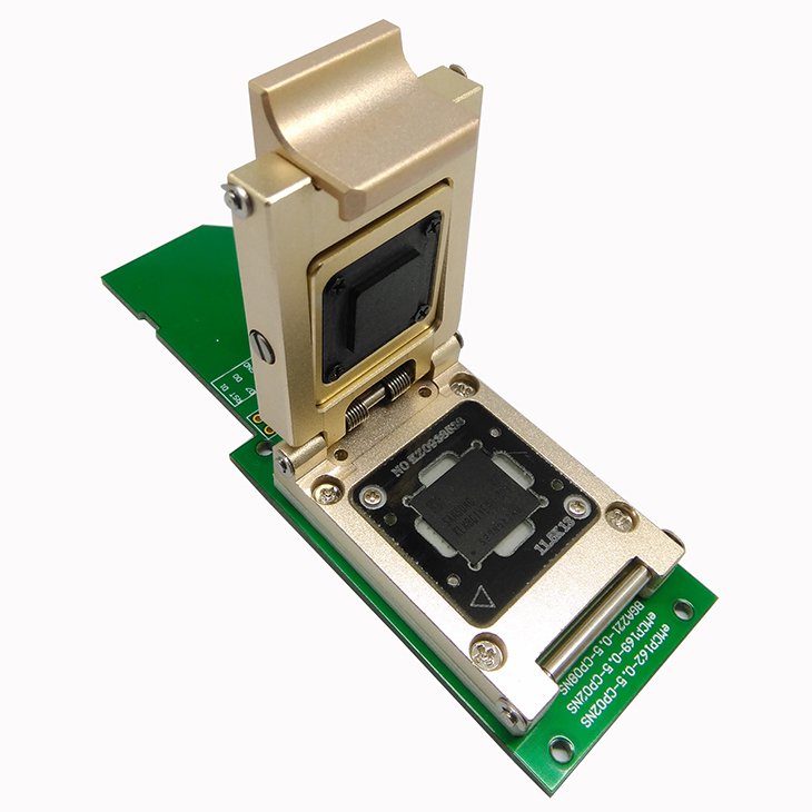 US $279 0 |size 11x10mm,for BGA 153 and BGA 169,Pogo Pin eMMC socket to SD  adapter,eMMC programmer,High quality and stable performance-in Integrated