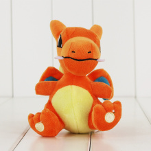 15Pcs/Lot Ampharos Dragonite Lapras Charizard Charmander Squirtle Mudkip Mew Lugia Chikorita Eevee Sylveon Plush Toy