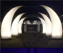 купить Inflatable tube LED inflatable light with inner blower for hotel celebration dinning room по цене 10376.88 рублей