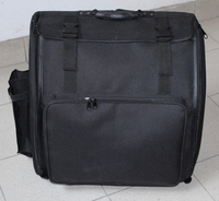 Free shipping Piano Accordion case XL Gig Bag for 120 Bass hardshell case