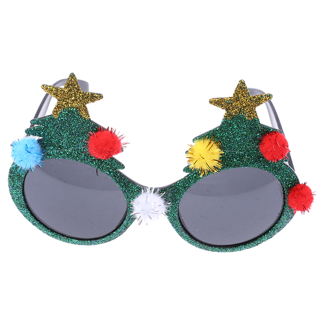 2c75c8815ae Novelty Sunglasses Christmas Tree Hawaiian Beach Pineapple Sunglasses  Christmas Halloween Costume Party Glasses Decorations