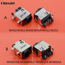 Cltgxdd 100pc Del Computer Portatile DC Jack Per Samsung RV410 RV411 RV420 RV510 RV511 RV515 / NP305V4A NP300E4C NP300E4A NP300V3A NP305E5A