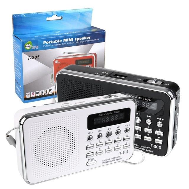 SD/Tf У диска USB Линейный Вход MP3 Fm-радио Спикер Цифровой мультимедийный portatile портативный fm-радио музыка Громкоговоритель