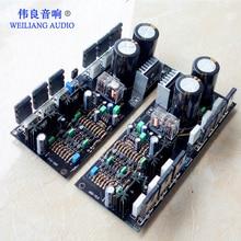 2 قطعة ايفي 300 W * 2 2SC5200 A1943 مكبر كهربائي مجلس اليها Accuphase A60 الدائرة