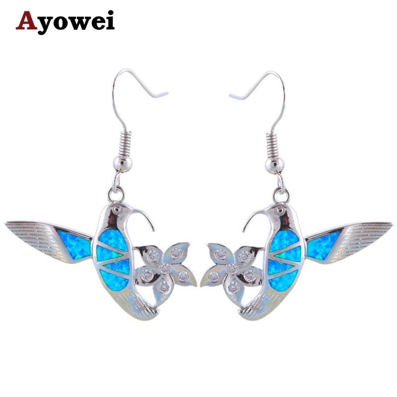 ▽AliExpress diseño especial atractivo pájaro y flor Classic Blue ...