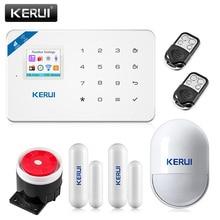 2017 Kerui W18 Sans Fil Wifi GSM IOS/Android APP Contrôle LCD GSM SMS de Cambrioleur de Système D'alarme Pour La Maison de Sécurité