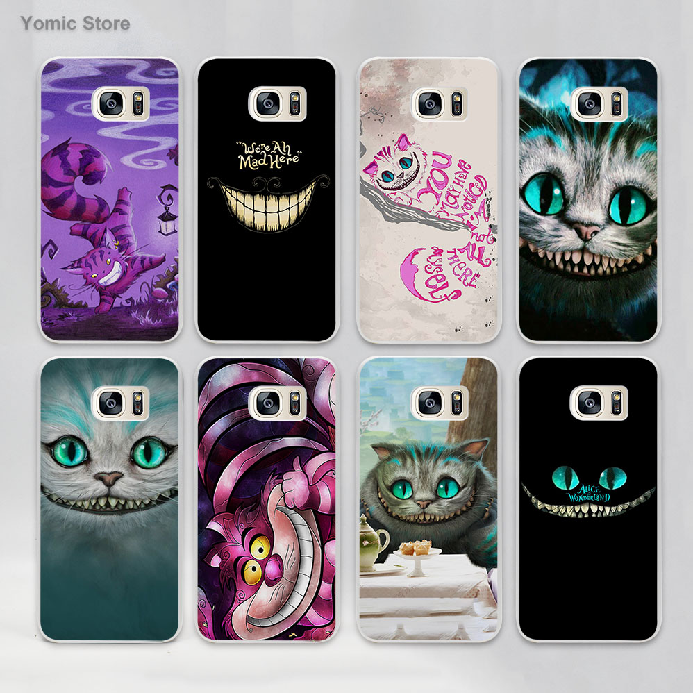 the best attitude f4450 6682a Buy cheshire cat phone case samsung galaxy s7 edge and get free ...