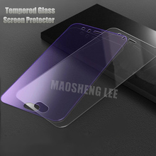 2pcs Tempered Glass For Xiaomi Mi 6 mi6 Screen Protector 9H 2.5D Anti Blu ray Toughened glass Protective film For Xiaomi mi 6