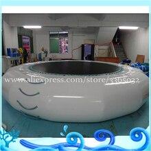 Горячая вода надувной катапульты капли, батут надувной воды Blob используется в озере море