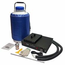 Original phone repair machine FS06 liquid nitrogen frozen lcd Separator machine kit built in pump with 10L tank 300W yds 50b small capacity cryogenic liquid nitrogen tank