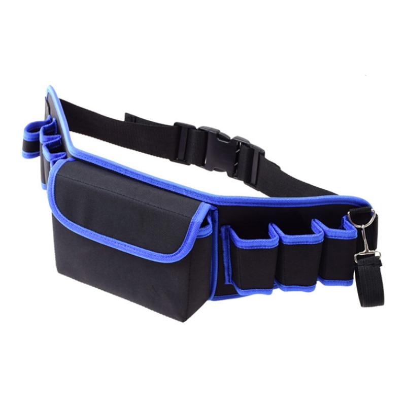 NEW ARRIVE Multi-pocket Handyman Tool Belts Electrician Waist Bags Construction Working Apron