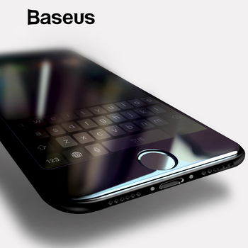 Baseus 0.2mm Full Screen Tempered Glass For iPhone 8 7 Screen Protector Front Glass For iPhone 7 Plus 8 Plus Protective Glass
