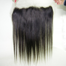 13×4 Brazilian Ear to Ear Lace Frontal Closure With Baby Hairs 8A Grade Straight Lace Frontal Bleached Knots Free Middle 3 Part