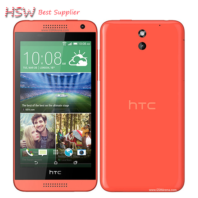 610 Original 100% Unlocked HTC Desire 610 8MP 2040mAh 4.7 Inches 8GB ROM Touch screen Refurbished Mobile Phone Free Shipping