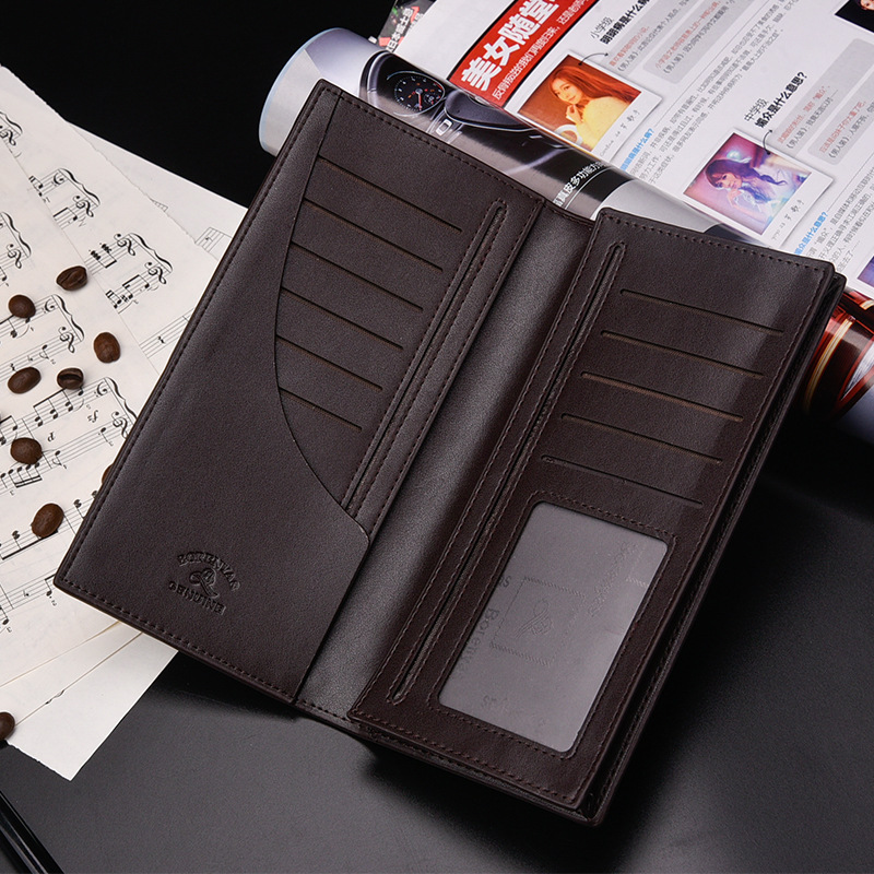 Multi-card bit New Leather Mens Wallet Man Coin Purse Small Brand Male Credit&id Multifunctional Walets