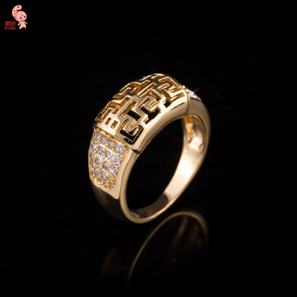 2015 new design brand luxury wedding rings for women top quality