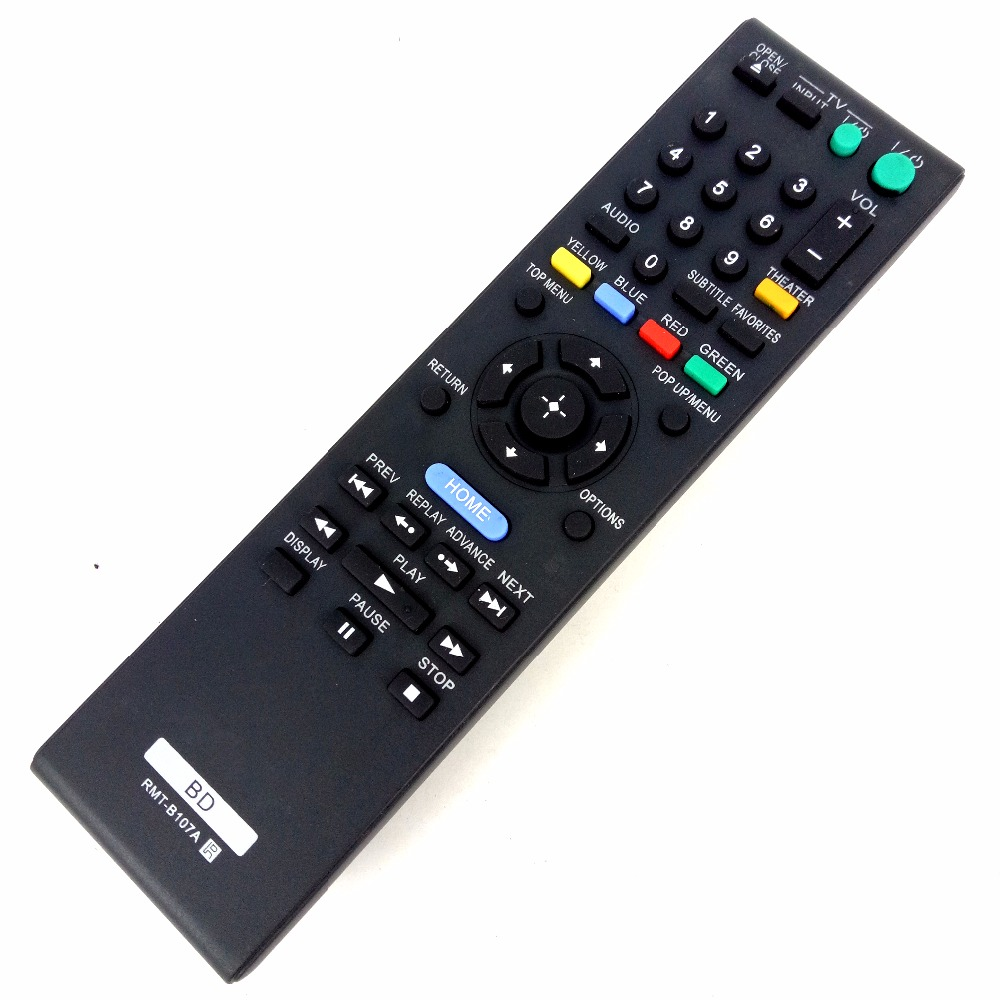 NEW Replacement RMT-B107A For SONY BD Remote control BDPS570 BDPBX37 BDPBX57 BDPS270