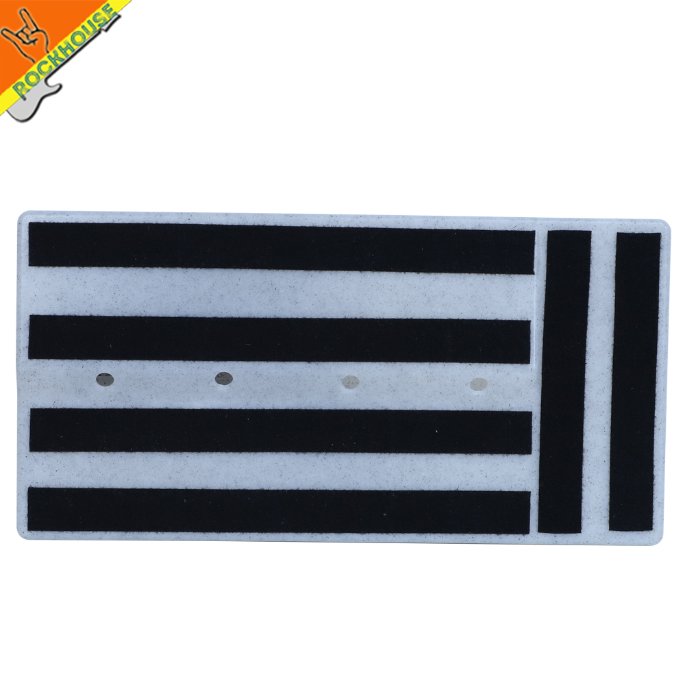 Super Solid Guitar Pedal Board Pedalboard RockBoard Pedal Train Hide Your Pedal Power And Power Cables Free Shipping