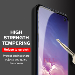Image 4 - 11D Curved Full Cover Tempered Glass for Samsung Galaxy A50 A30 A20 Screen Protector for Samsung M30 M20 M10 Protective Glass